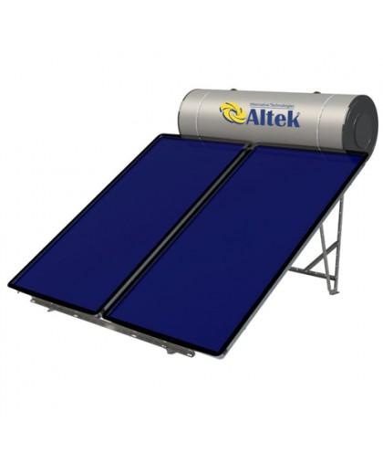 Система солнечного нагрева воды с плоскими коллекторами ALBA 300