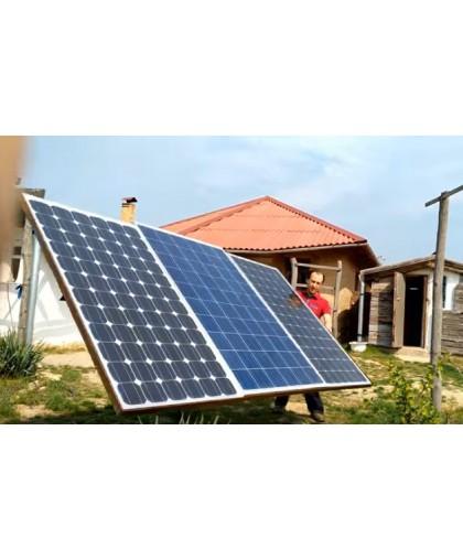Простая система из солнечных батарей своими руками