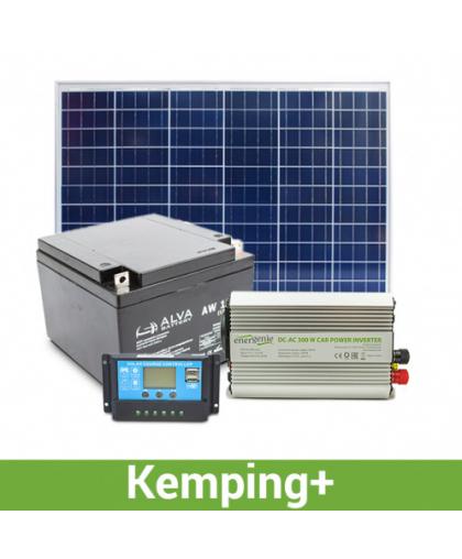 Походная солнечная электростанция 500-600 Вт*ч в день, 15-18 кВт*ч/месяц