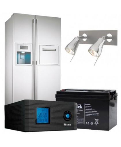 Бесперебойное питание дома (холодильник, освещение, 12 часов работы)