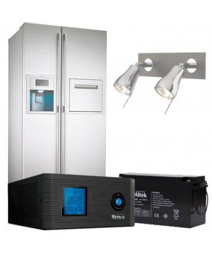 Бесперебойное питание дома (холодильник, освещение, 6 часов работы)