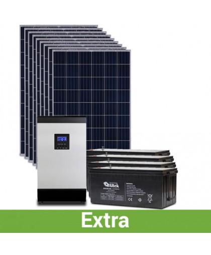 """Солнечная электростанция для дома """"расширенная"""", 10-11 кВт*ч в день, 240-360 кВт*ч/месяц"""