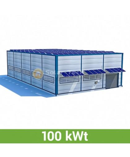 Солнечная электростанция (100 КВт) под Зеленый тариф