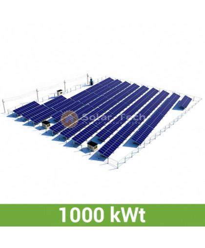 Солнечная электростанция (1000 КВт) под Зеленый тариф