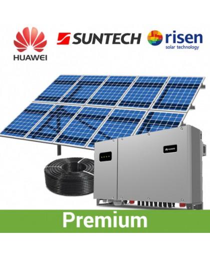 Наземная солнечная электростанция 30 КВт